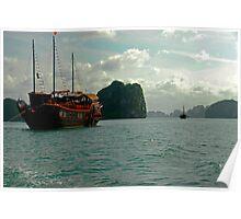 Halong Bay, Viet Nam Poster