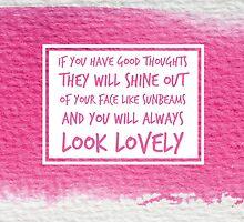 Roald Dahl Sunbeams Quote by thepinkpenguin