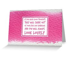 Roald Dahl Sunbeams Quote Greeting Card