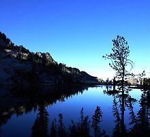 Morning at Traverse Lake, Wallowa Mts. Oregon  by Don Siebel