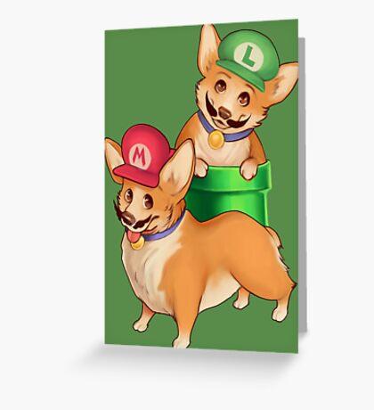Plumber Pups Greeting Card