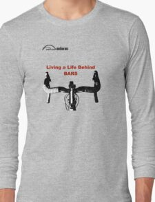 Cycling T Shirt - Life Behind Bars Long Sleeve T-Shirt
