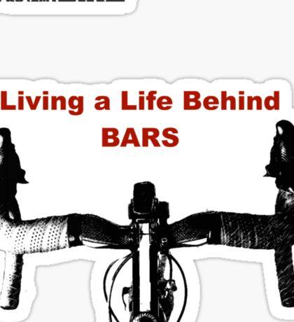 Cycling T Shirt - Life Behind Bars Sticker