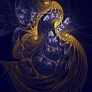 Goddess Of Healing Energy by Deborah  Benoit