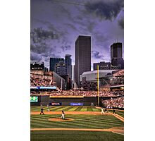 An Evening at Target Field Photographic Print