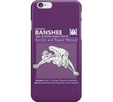 Banshee Service and Repair Manual iPhone Case/Skin