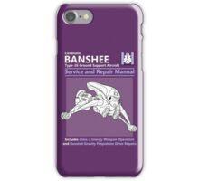 Banshee Service and Repair Manual iPhone Case/Skin