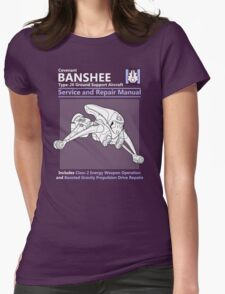 Banshee Service and Repair Manual Womens Fitted T-Shirt