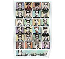 Benedict Cumberbatch Faces Poster