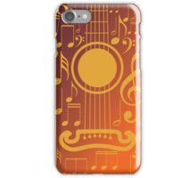 Guitar and Music Notes 5 iPhone Case/Skin