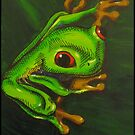 Tree Frog by Kat Anderson
