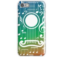 Guitar and Music Notes 6 iPhone Case/Skin