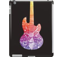 Guitar and Music Notes 7 iPad Case/Skin