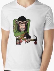 Human Hunters Mens V-Neck T-Shirt