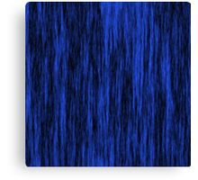 Blue Black background Canvas Print