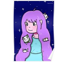 Bee and Puppycat print Poster