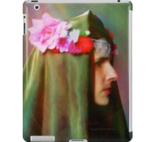 Lady of The Flowers iPad Case/Skin