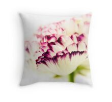 Vibrate to the Heartspace Throw Pillow