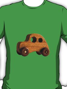 Wooden retro funky toy car T-Shirt