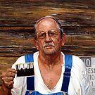 American Portrait, Dad by Cameron Hampton