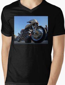 vintage duke  Mens V-Neck T-Shirt
