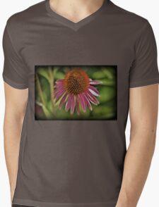 Spine Burst Mens V-Neck T-Shirt