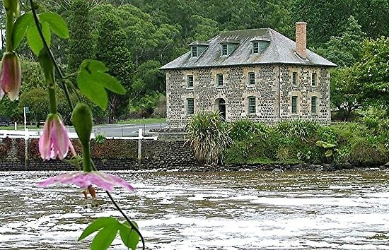 Stone Store, Kerikeri, Bay of Islands, New Zealand. by Roy  Massicks