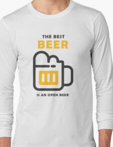 The Best Beer Long Sleeve T-Shirt