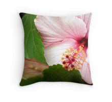 Hibiscus - Friends Spring Garden 2009 Throw Pillow