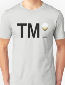 TM Wine (Black Ink/White Wine) T-Shirt