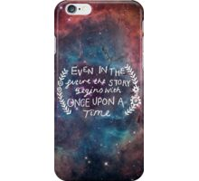 The Lunar Chronicles Space Quote iPhone Case/Skin