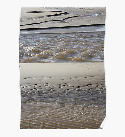 Layers of sand Poster