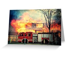 Detroit Fire Department  Greeting Card