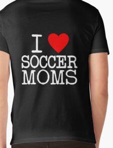 I Heart Soccer Moms Mens V-Neck T-Shirt
