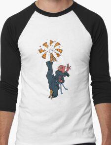 Karate Slice Men's Baseball ¾ T-Shirt