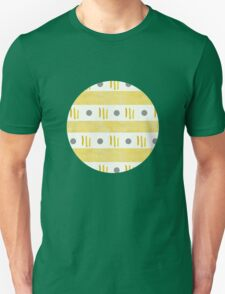 Dot dash yellow Unisex T-Shirt