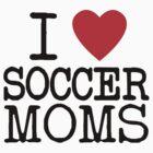 I Heart Traditional Soccer Moms by MiniMumma