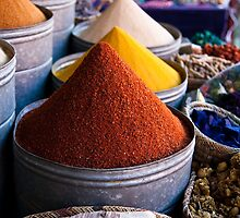 Spices of Marrakesh by Thomas Young