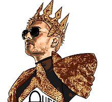 Queen Bill - Black Text by Nobodysart