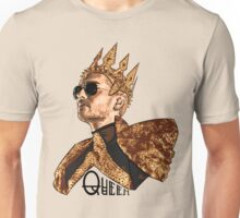 Queen Bill - Black Text Unisex T-Shirt