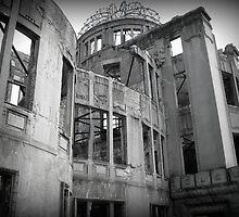 Genbaku Domu (Atomic Bomb Dome, Hiroshima, Japan) by chancemaycrown