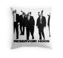 Reservoir Hogs Throw Pillow