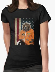 Astrobear Womens Fitted T-Shirt