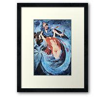 Seductress of the Sea Framed Print