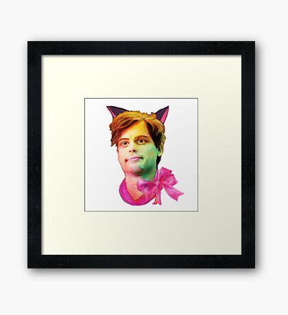 Gubler Cat Framed Print