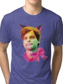 Gubler Cat Tri-blend T-Shirt