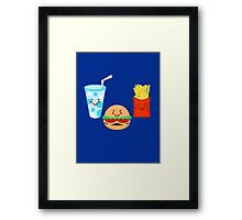 HAPPY MEAL Framed Print