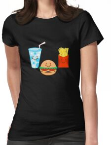 HAPPY MEAL Womens Fitted T-Shirt
