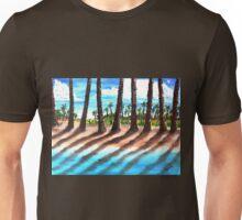 Shadows Of Palm Beach Unisex T-Shirt