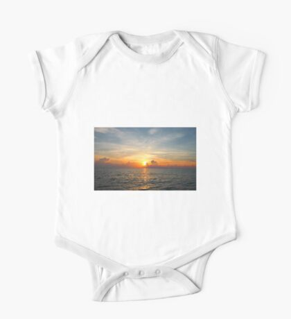Caribbean Ocean Sunset One Piece - Short Sleeve